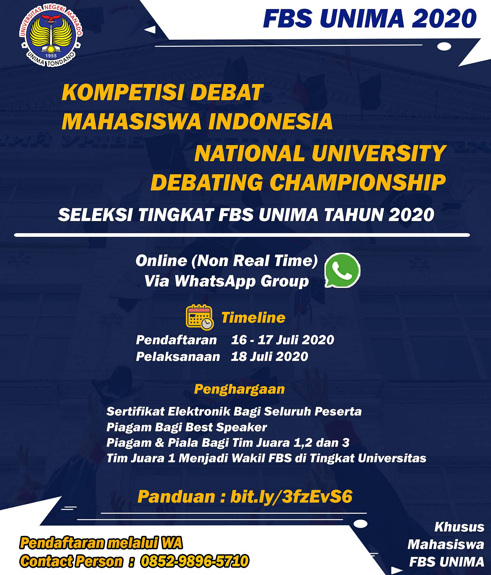 National University Debating Championship & Kompetisi Debat Mahasiswa Indonesia